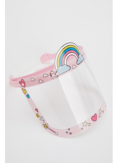 DeFacto Unicorn Baskılı Yıkanabilir Çocuk Maske Pembe